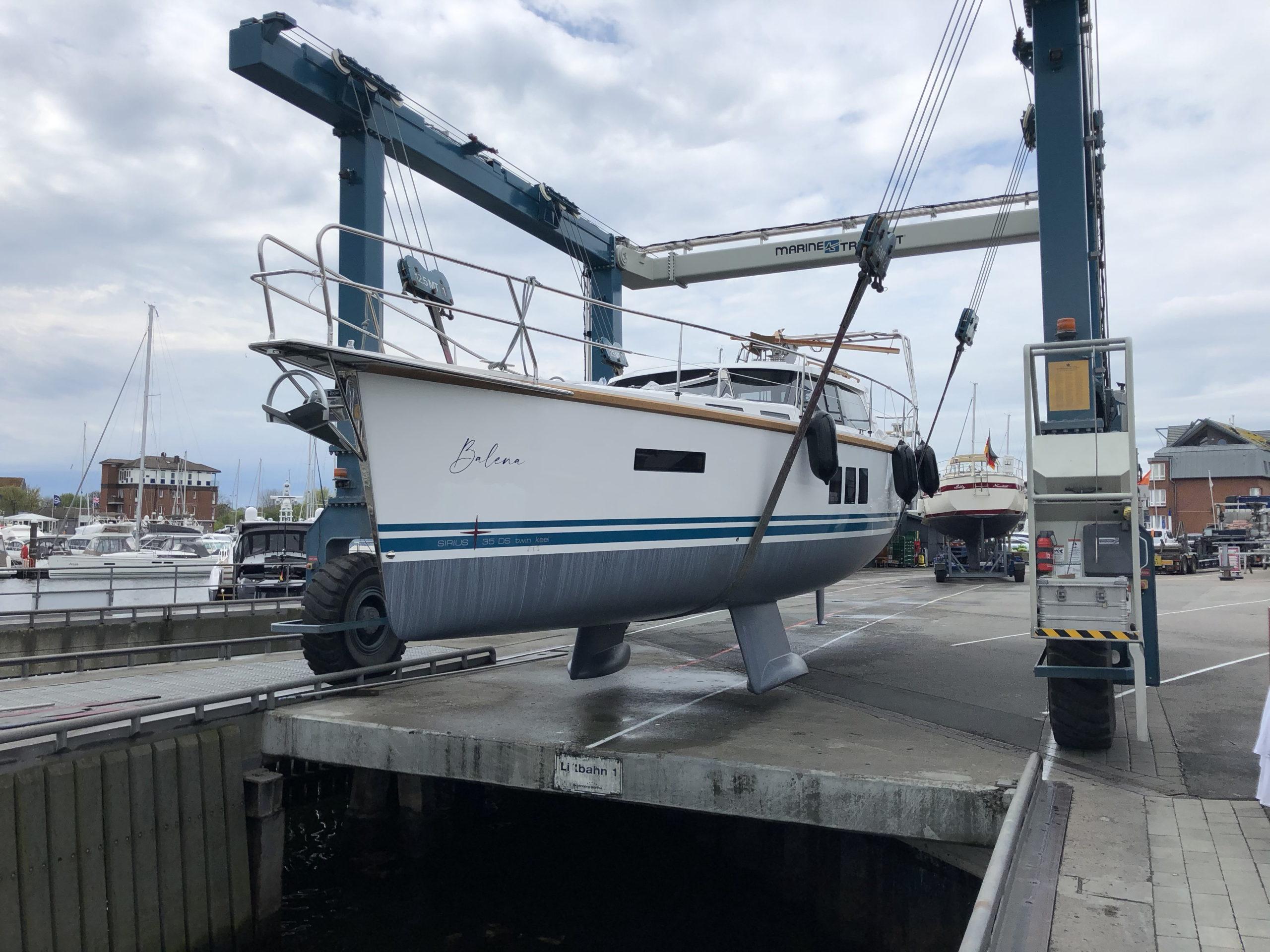 Bootsübernahme & Einziehen